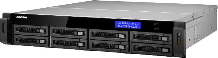 QNAP VioStor VS-8140U-RP Pro