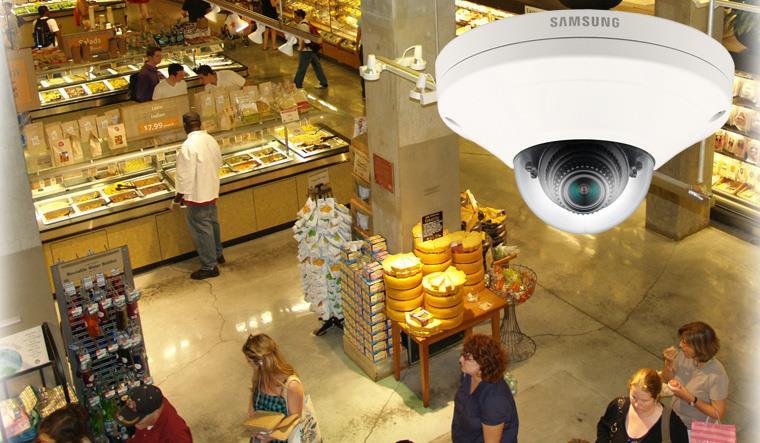 Monitoring wizyjny IP obiektów handlu detalicznego