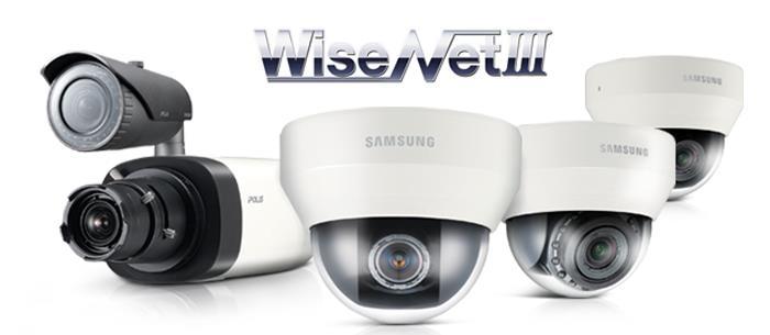 Nowe kamery IP Samsung Techwin z procesorem WiseNetIII
