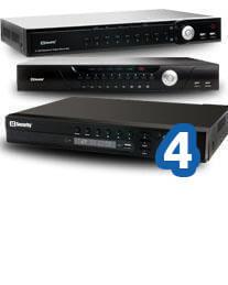 Rejestratory IP do 4 kanałów