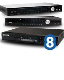 Rejestratory IP do 8 kanałów