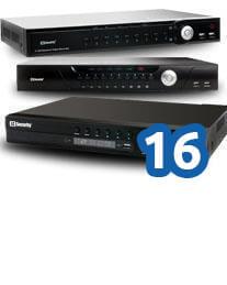 Rejestratory IP do 16 kanałów