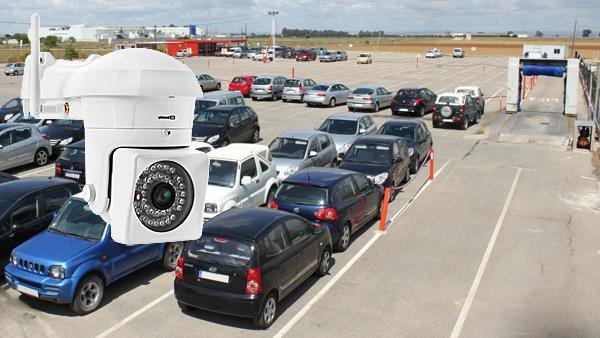 Bezprzewodowy monitoring IP posesji, parkingu, magazynu