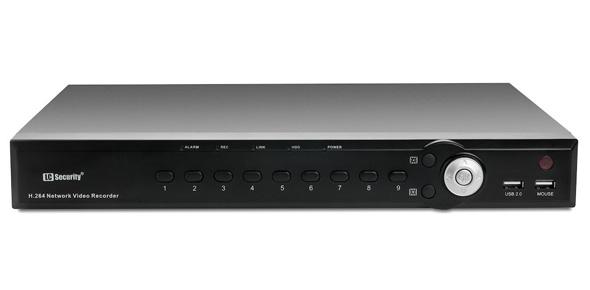 Nowoczesny rejestrator LC-NVR2216 - następca modelu LC-NVR2109
