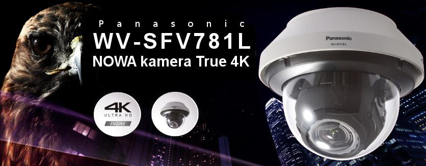 WV-SFV781L - nowa kamera 4K od Panasonic
