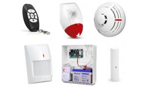 Alarm Satel Micra, MPT-300, 2xMPD-300, MSD-300, MMD-300, syg. ze