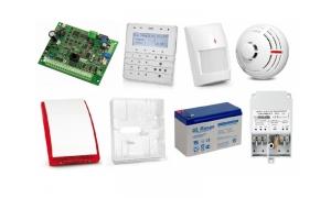 Alarm SATEL INTEGRA 24 3 x PIR 2 x TSD-1 Syg.zew.