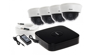 Zestaw 4 kamer LC-353 AHD + akcesoria