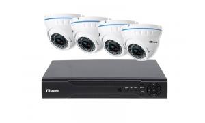 Zestaw 4 kamer LC-676 AHD + rejestrator