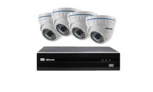 Zestaw 4 kamer LC-141-IP + rejestrator