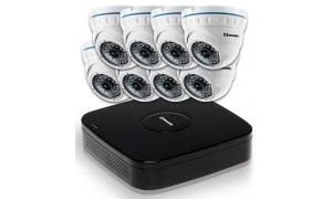 Zestaw 8 kamer LC-141 AHD + rejestrator