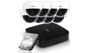 Zestaw 8 kamer LC-353 AHD + rejestrator + dysk 1TB