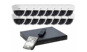 Zestaw 16 kamer LC-353 AHD PREMIUM + rejestrator + dysk 1TB