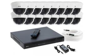 Zestaw 16 kamer LC-353 AHD PREMIUM + akcesoria