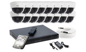 Zestaw 16 kamer LC-353 AHD PREMIUM + akcesoria + dysk 1TB