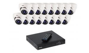 Zestaw 16 kamer LC-344 IP POE + rejestrator
