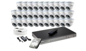 Zestaw 32 kamer LC-141 AHD + akcesoria + dysk 1TB