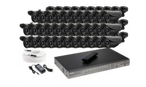 Zestaw 32 kamer LC-302D + akcesoria