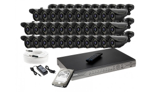 Zestaw 32 kamer LC-302D + akcesoria + dysk 1TB