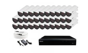 Zestaw 32 kamer LC-501 AHD + akcesoria