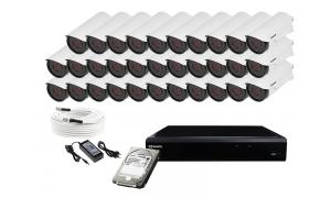 Zestaw 32 kamer LC-501 AHD + akcesoria + dysk 1TB