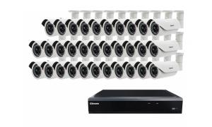 Zestaw 32 kamer LC-155 IP POE + rejestrator