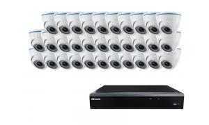 Zestaw 32 kamer LC-244 IP POE + rejestrator