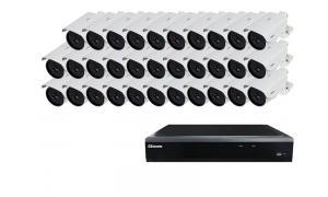 Zestaw 32 kamer LC-259 IP POE + rejestrator