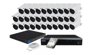 Zestaw 32 kamer LC-259 IP POE + akcesoria + dysk 1TB