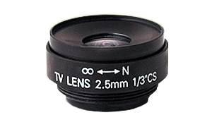 Obiektyw 2.5mm