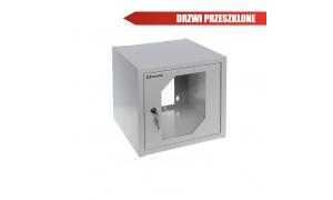 ® LC-R10-W6U300 - Szafa rack wisząca z drzwiami szklanymi
