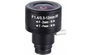 ® LC-M125BF3312IR - Obiektyw megapikselowy 3,3 - 12mm