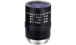 ® LC-M12VM412IR - Obiektyw megapikselowy z ogniskową 4 - 12mm