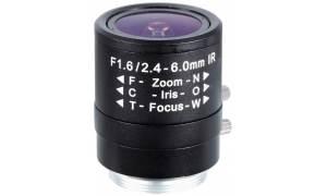 ® LC-M13VM246IR - Zmiennoogniskowy obiektyw MP 2,4mm - 6mm