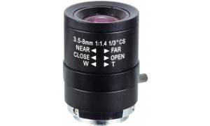 ® LC-M13VM358 - Obiektyw megapikselowy 3,5 - 8mm