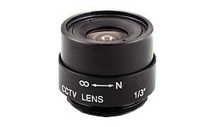 Obiektyw 4mm 1/3 Mega F1,5 IR