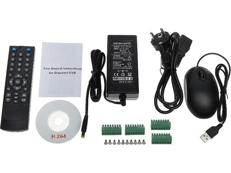 ® LC-1611 hybrydowy - Rejestrator CCTV / AHD / IP, 16 kanałów