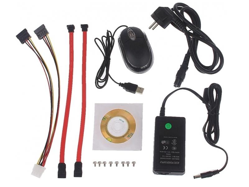® LC-5400-NVR - 4 kanałowy rejestrator IP
