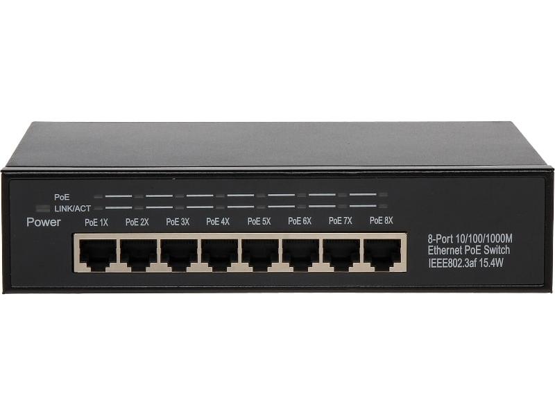 ® LC-EP-88G - Switch sieciowy 8 portowy