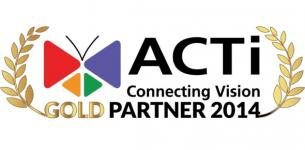 CTR Partner Złotym Partnerem ACTi 2014!