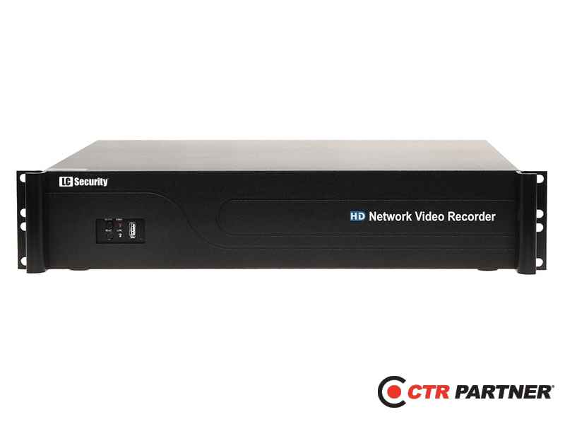 ® LC-6436 NVR - Rejestrator IP dla 36 kamer