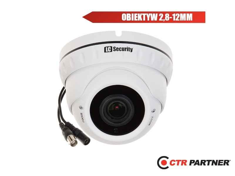 ® LC-676 AHD - Zewnętrzna kamera kopułkowa