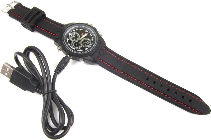Zegarek z kamerą LC-W408 HD